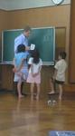 Kidsコース 家族について学習